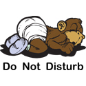 Monkey Do Not Disturb