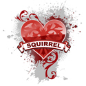 Heart Squirrel