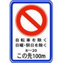 Japanese No Parking Sign
