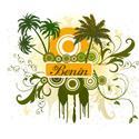 Palm Tree Benin T-shirt