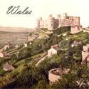 Wales Harlech Castle