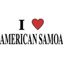 I Love American Samoa Merchandise