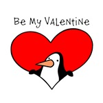 Be My Valentine Penguin