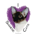 I (heart) Siamese Cats