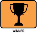 Winner (orange)