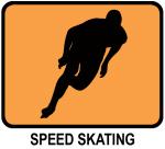 Speed Skating (orange)