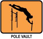 Pole Vault (orange)