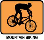 Mountain Biking (orange)