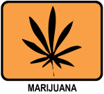 Marijuana (orange)