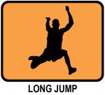 Long Jump (orange)