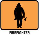 Firefighter (orange)