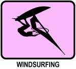 Windsurfing (pink)