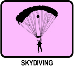 Skydiving (pink)