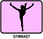 Gymnast (pink)