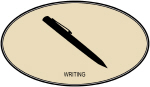 Writing (euro-brown)