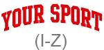 Sport (red curve I-Z)
