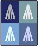 Badminton (blue boxes)