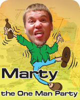 Marty the One Man Party