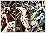 Comic Strip Christ