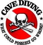 Cave Diving (Skull)