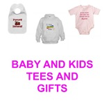 NOVELTY AND FUNNY INFANT AND KIDS T-SHIRTS