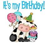Kids Birthday Cow