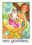 MERMAID AND CAT FISH No. 4