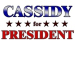 CASSIDY for president