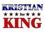 KRISTIAN for king