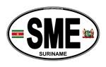 Suriname Euro Oval