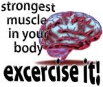 strongest muscle...brain