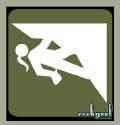 Girl Climbing Icon