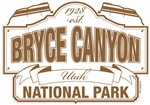 Bryce Canyon National Park Brown Sign