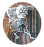skull look (great for halloween)