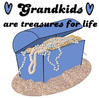 GRANDKIDS ARE TREASURES FOR LIFE (PERFECT GIFT)