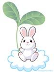 Bunny on Cloud