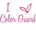 I love Color Guard Pink