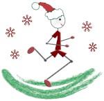 Holiday Runner Guy