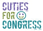 Cuties for Congress T-Shirts, Gifts