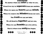 Unity Poem Design
