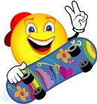 Smiley Skater Design