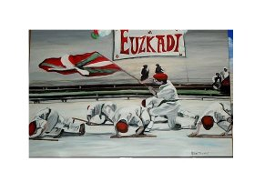 Basque subject paintings and art products