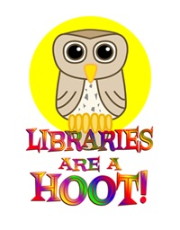 <b>LIBRARIES ARE A HOOT</b>