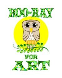 <b>HOO-RAY FOR ART</b>