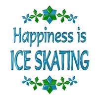 <b>HAPPINESS IS ICE SKATING</b>