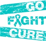 Ovarian Cancer Go Fight Cure Shirts
