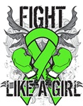 Lymphoma Ultra Fight Like A Girl Shirts
