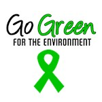 Go Green For The Environment T-Shirts