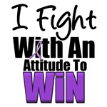 I Fight To Win Purple Ribbon T-Shirts & Gifts