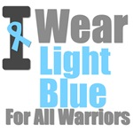 I Wear Light Blue For All Warriors T-Shirt